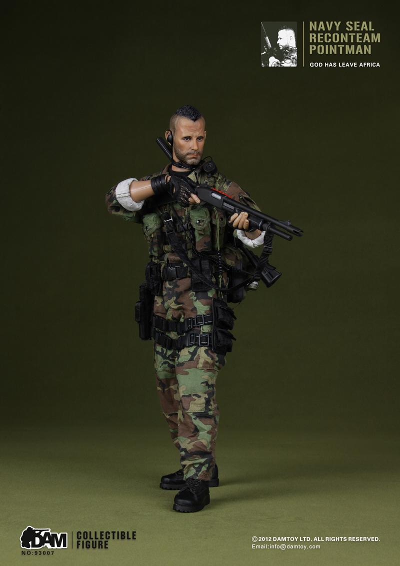 Damtoys Navy Seal Reconteam Saw Gunner
