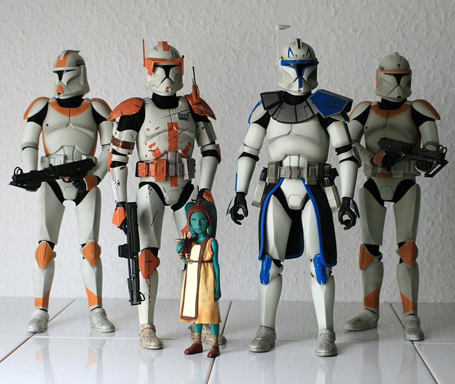 Sideshow Star Wars Die Klone Der Clone Wars