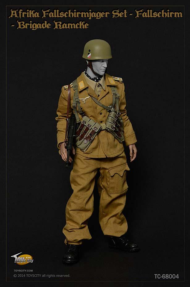 Toys City Afrika Fallschirmj 228 Ger Fallschirm Brigade