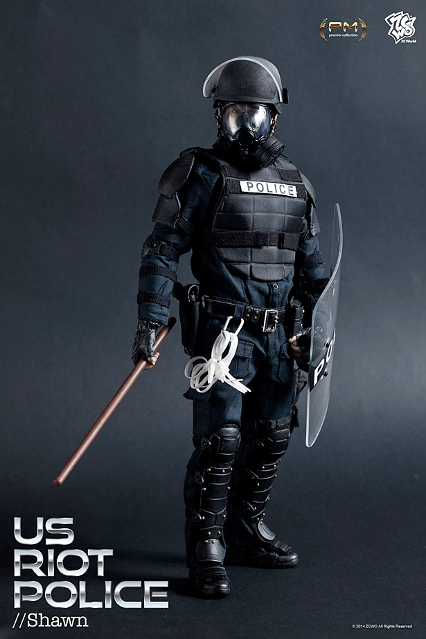 Zc World U S Riot Police Shawn Amp Mason