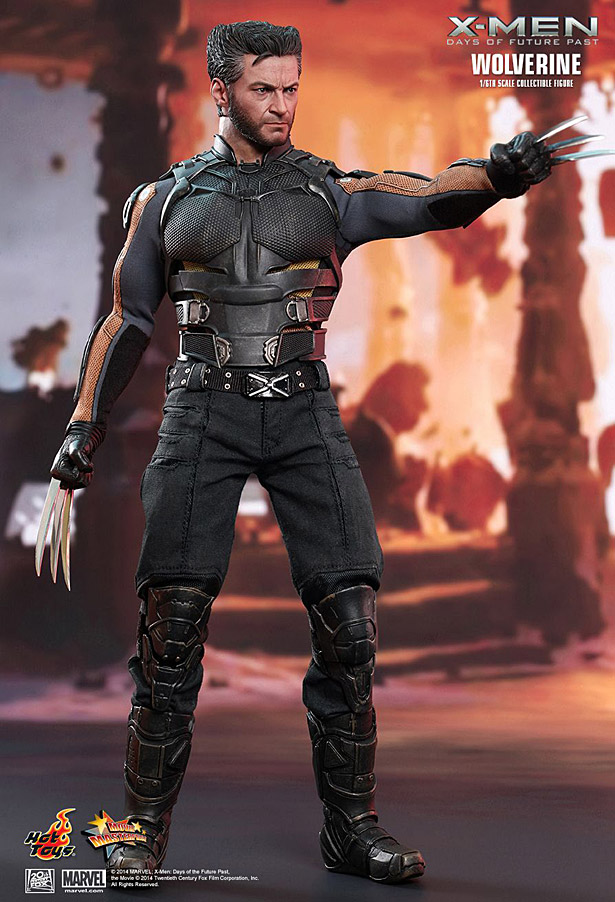 X Men Days Of Future Past Action Figures Hot Toys: Wolverine �...