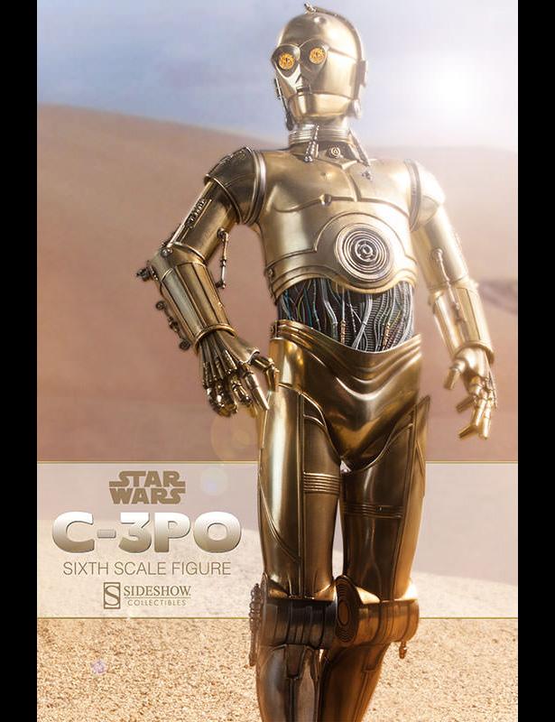 R2d2 And C3po Desert Sideshow: C3PO