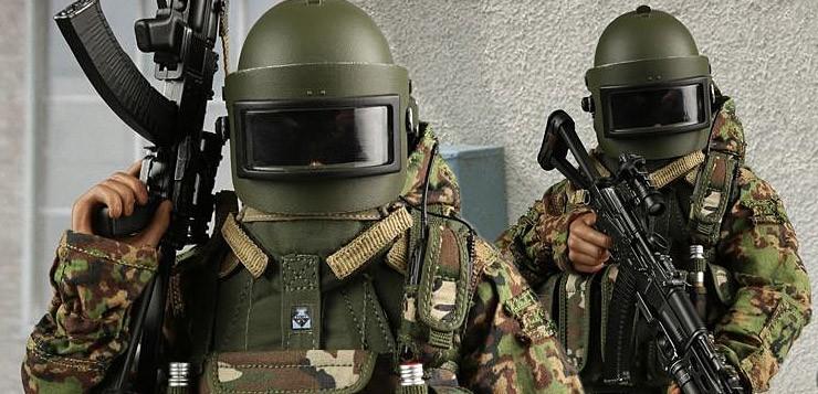 Mc Toys Russian Spetsnaz Fsb Alfa Group 2004 Beslan Ver