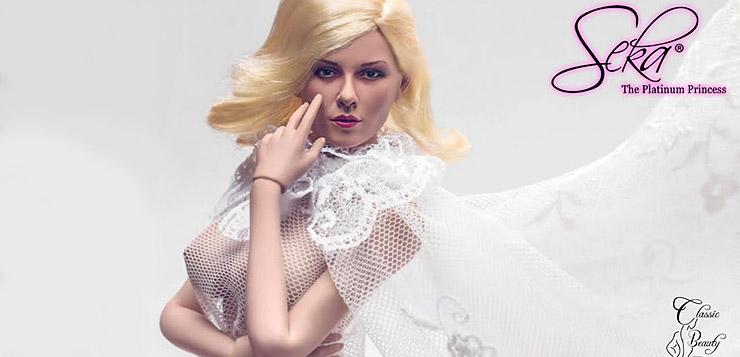 Classic Beauty Entertainment Seka 1/6 Action Doll (Fashion