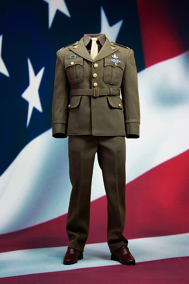 Pop Toys Wwii Captain Military Uniforms Suit A Amp B