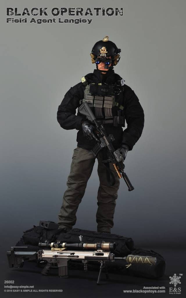 Easy Amp Simple Black Operation Field Agent