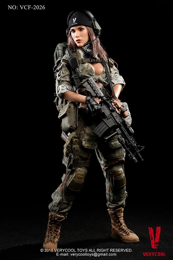 Very Cool Acu Camo Female Shooter