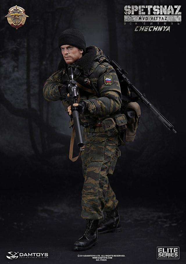 damtoys  spetsnaz mvd osn vityaz in chechnya
