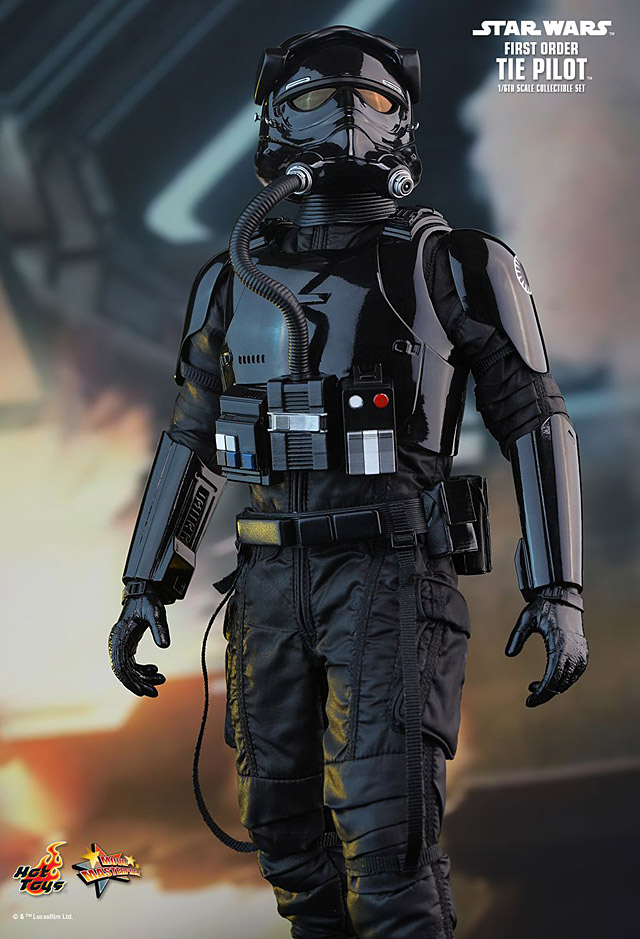 hot toys first order tie pilot star wars