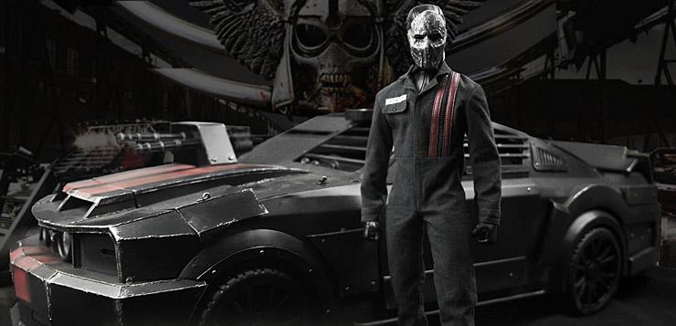 Pop Toys Death Race Driver Frankenstein