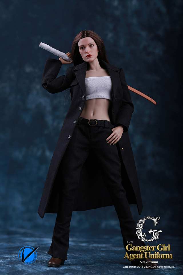 Viking Gangster Girl Agent Uniform