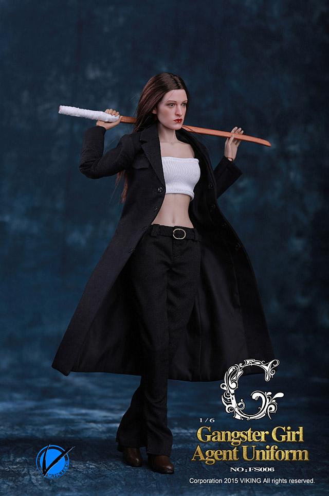 Viking Gangster Girl Agent Uniform