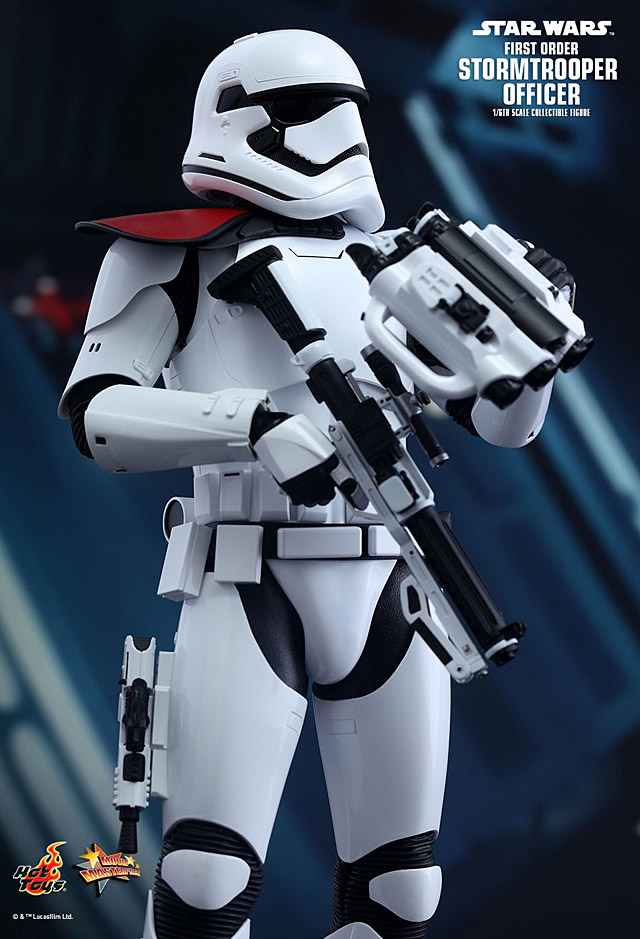 Hot Toys First Order Stormtrooper Officer Star Wars