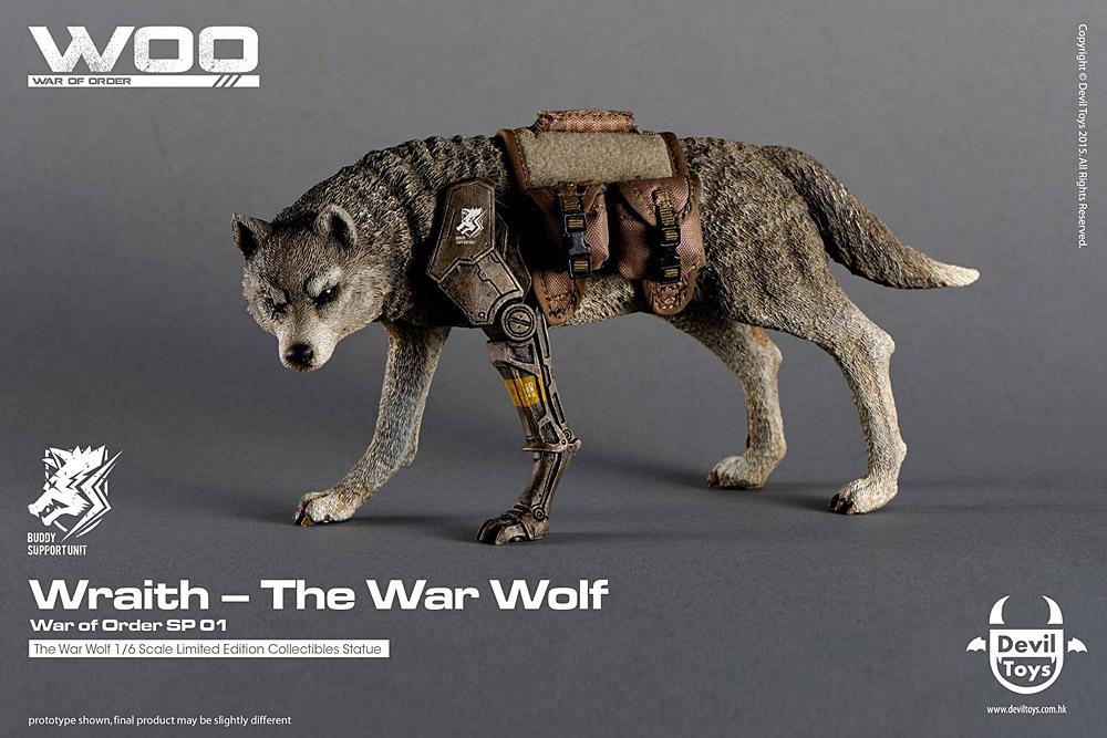 A Akita Dog Devil Toys: Wraith –...