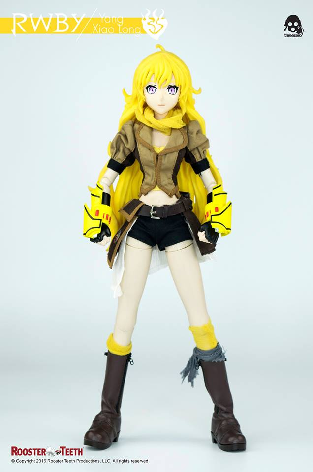 Threezero Rwby Yang Xiao Long