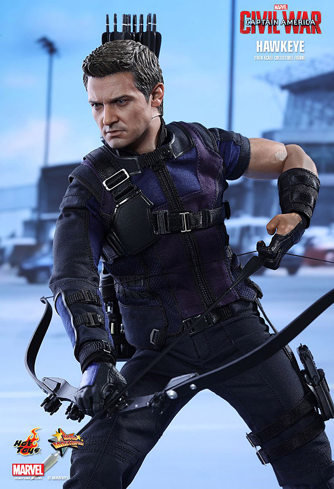 hot toys hawkeye captain america civil war