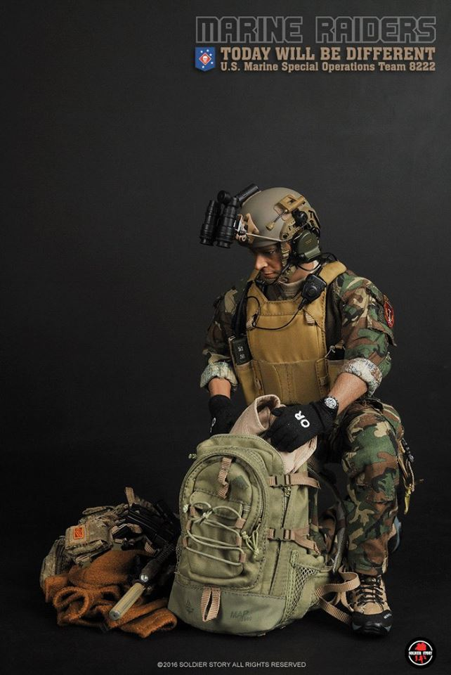 Soldier Story U S Marine Special Operations Team 8222