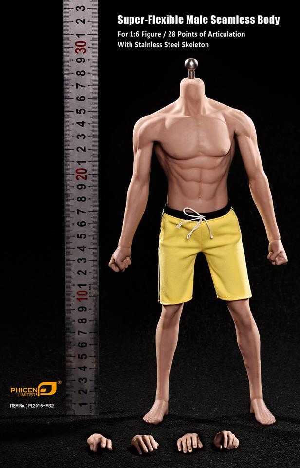 Phicen: Super Flexible Asia Male Seamless Body