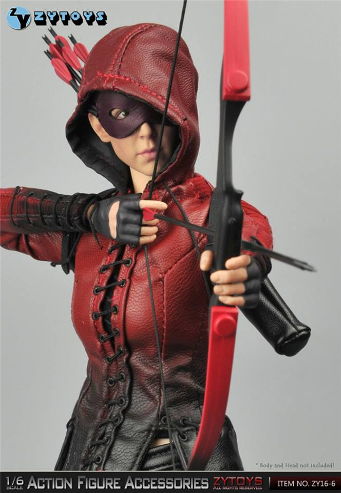 Zy Toys Female Archer Accessories Pack