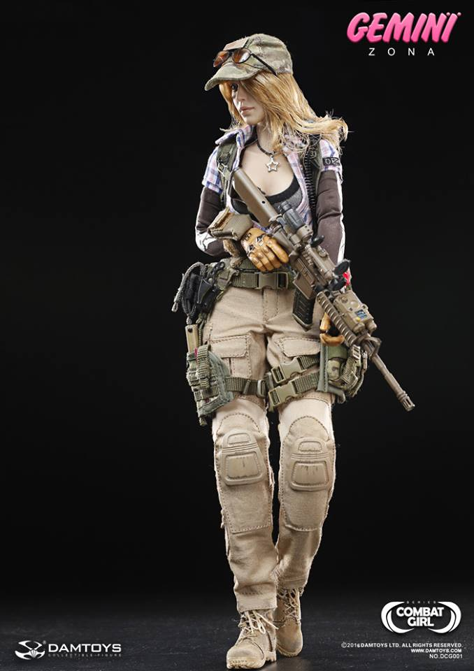 Damtoys Gemini Zona Combat Girls