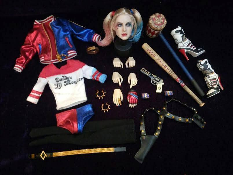 Dark Side Toys Harley Quinn Set Suicide Squad