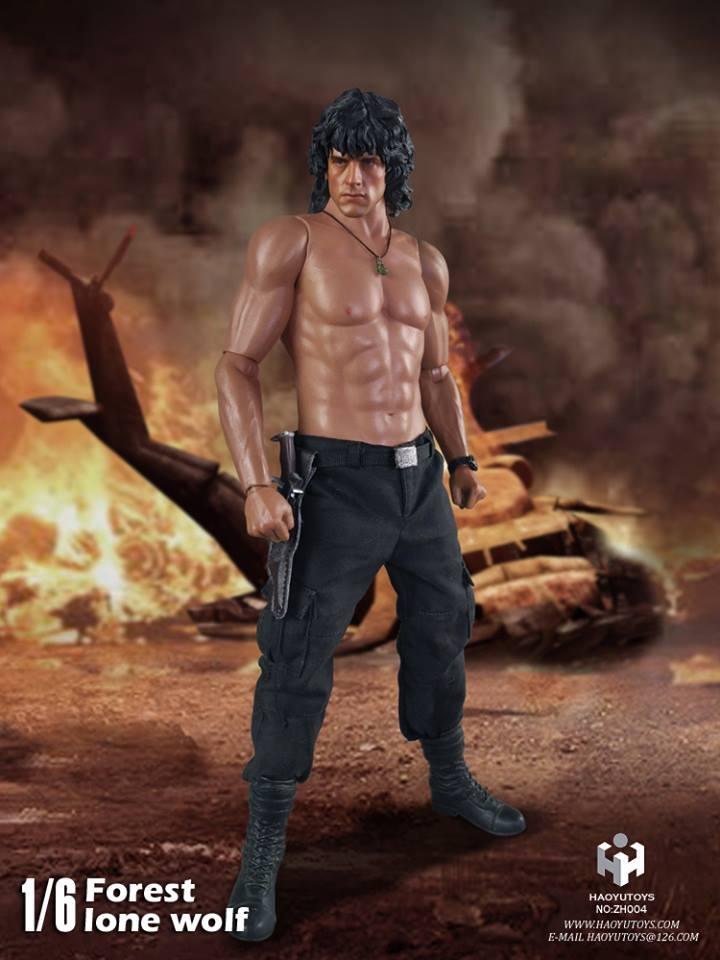 HaoYu Toys: Forest Lone Wolf (Rambo)