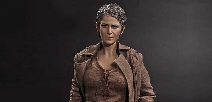 """1//6 Scale Toy The Walking Dead /""""CAROL/"""" Head Sculpt"""