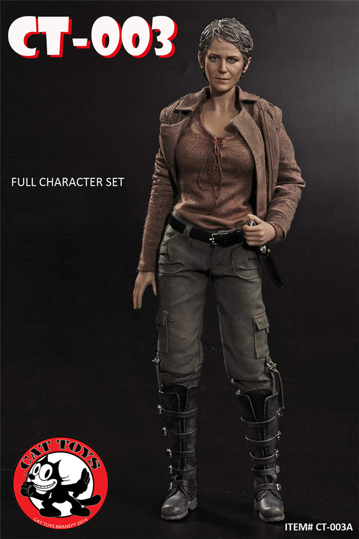 Cat Toys Carol Head Sculpt Amp Clothing Pack The Walking Dead