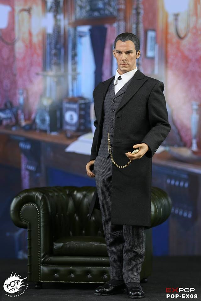 Pop Toys Sherlock Victorian Outfit