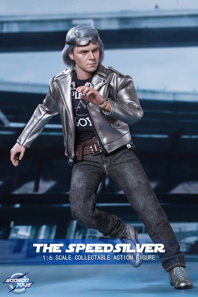 Soosootoys: The Speedsilver (X-Men)