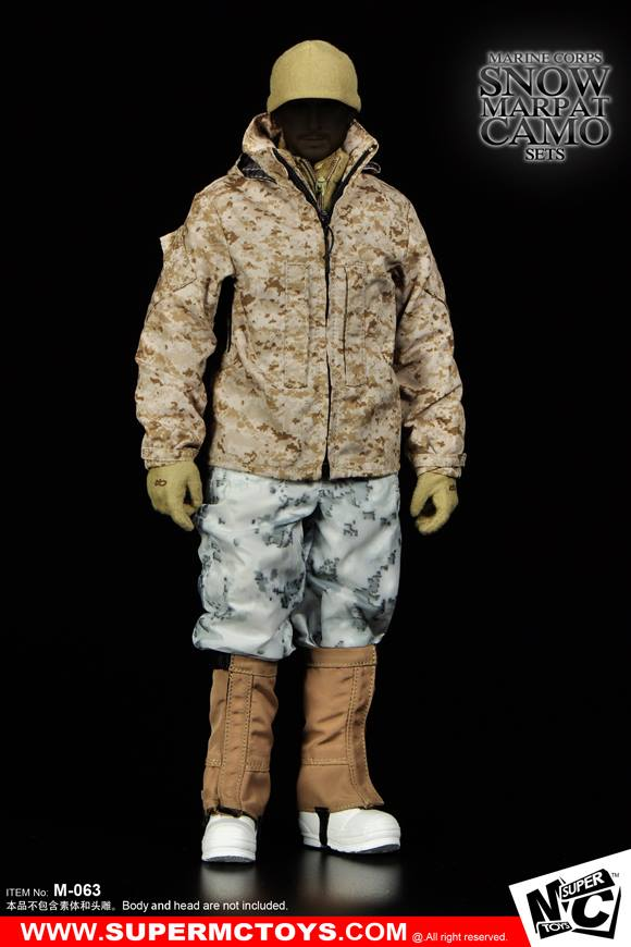 Winter Toys 10 And Up : Super mc toys marine corps snow marpat camo sets