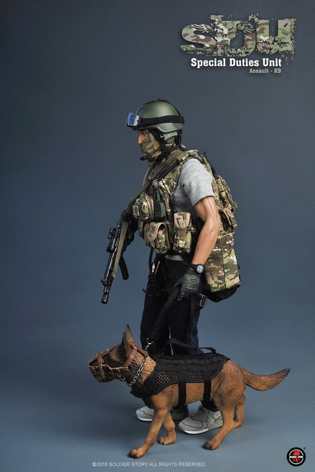 Soldier Story Special Duties Unit Assaulter K9