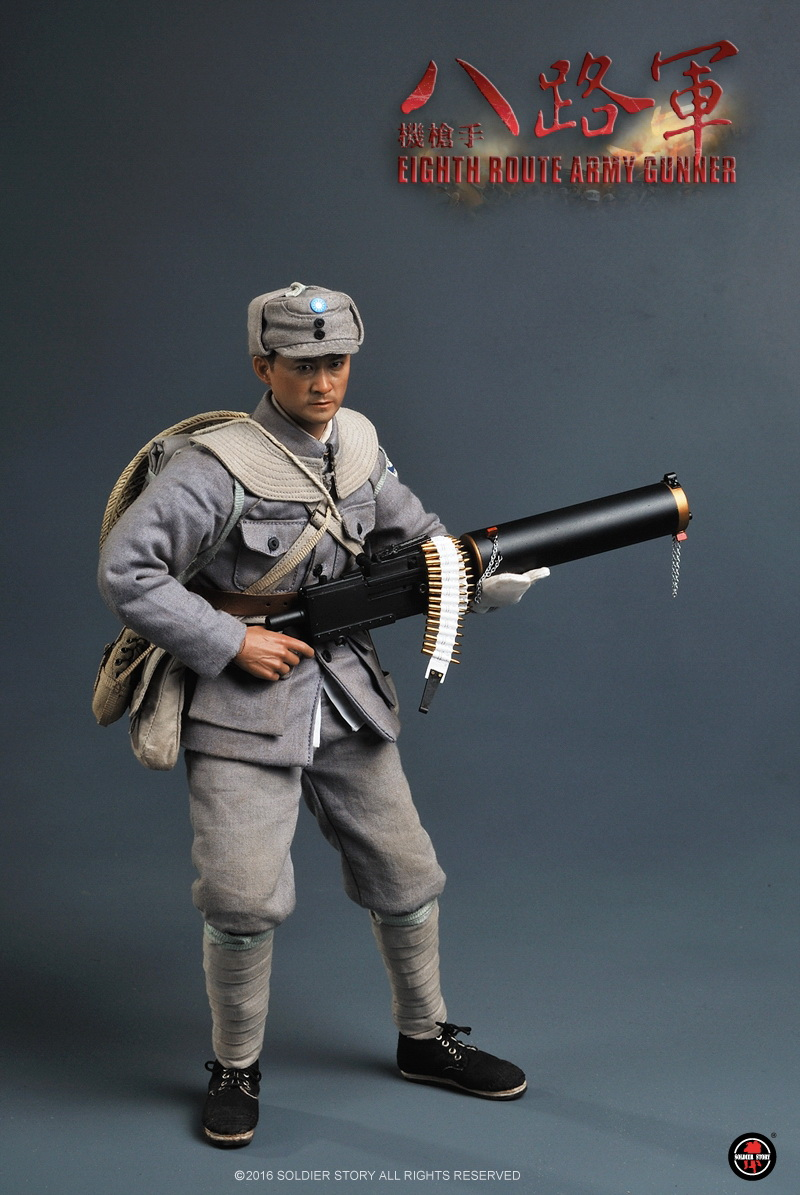 soldier story wwii � eight route army gunner
