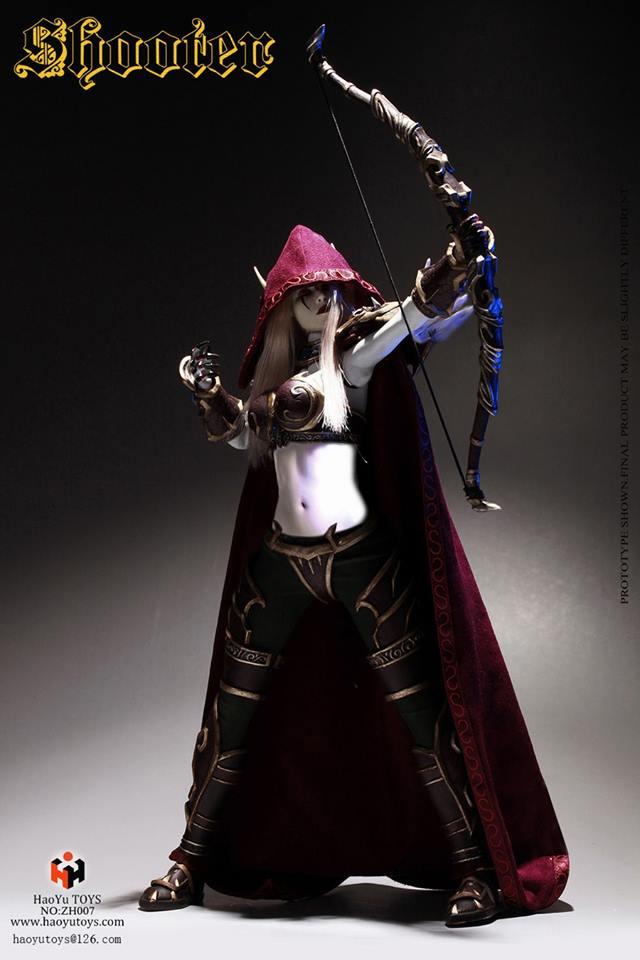 haoyu toys elf archer warcraft