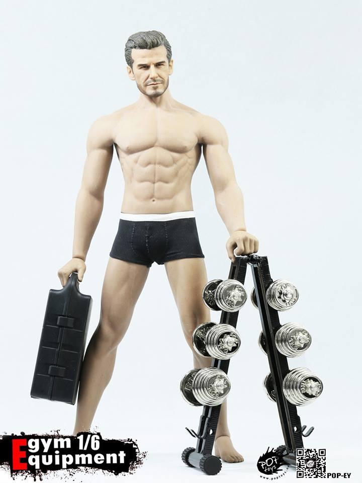 Pop Toys: Gym Equipment