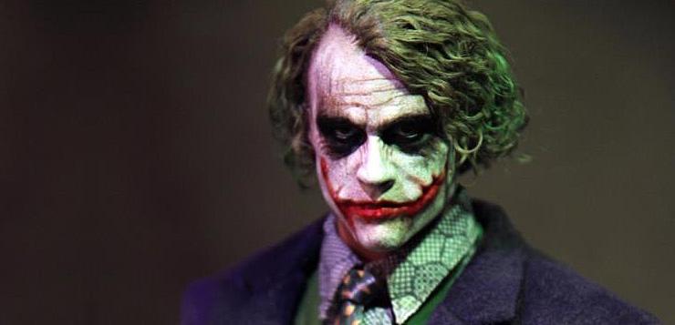 1//6 The Joker Heath Ledger  Kopf Head Sculpt Hot Toys Action Figur Dark Knight