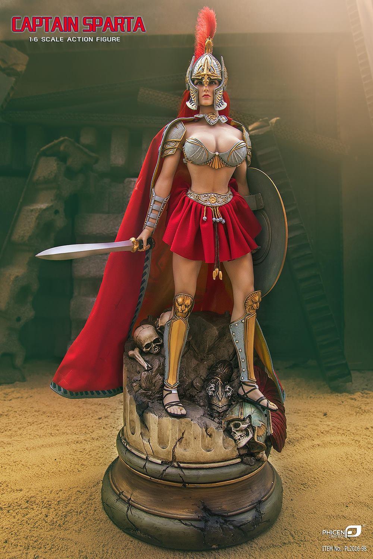 Phicen Captain Sparta