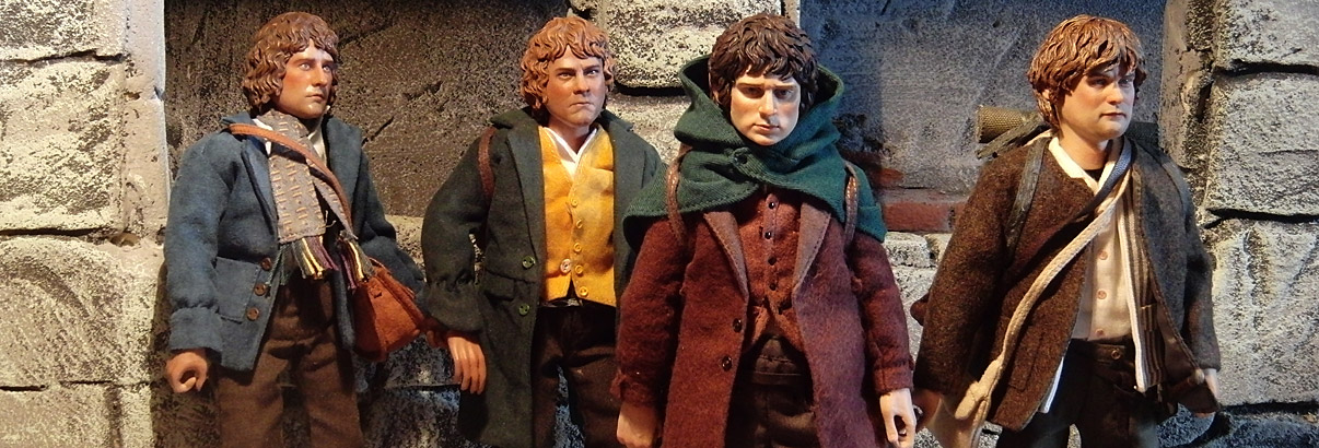 Asmus Toys: Frodo & Sam (Lord of the Rings)