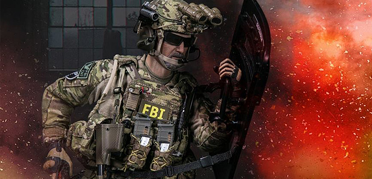 Damtoys Fbi Hrt Agent Hostage Rescue Team