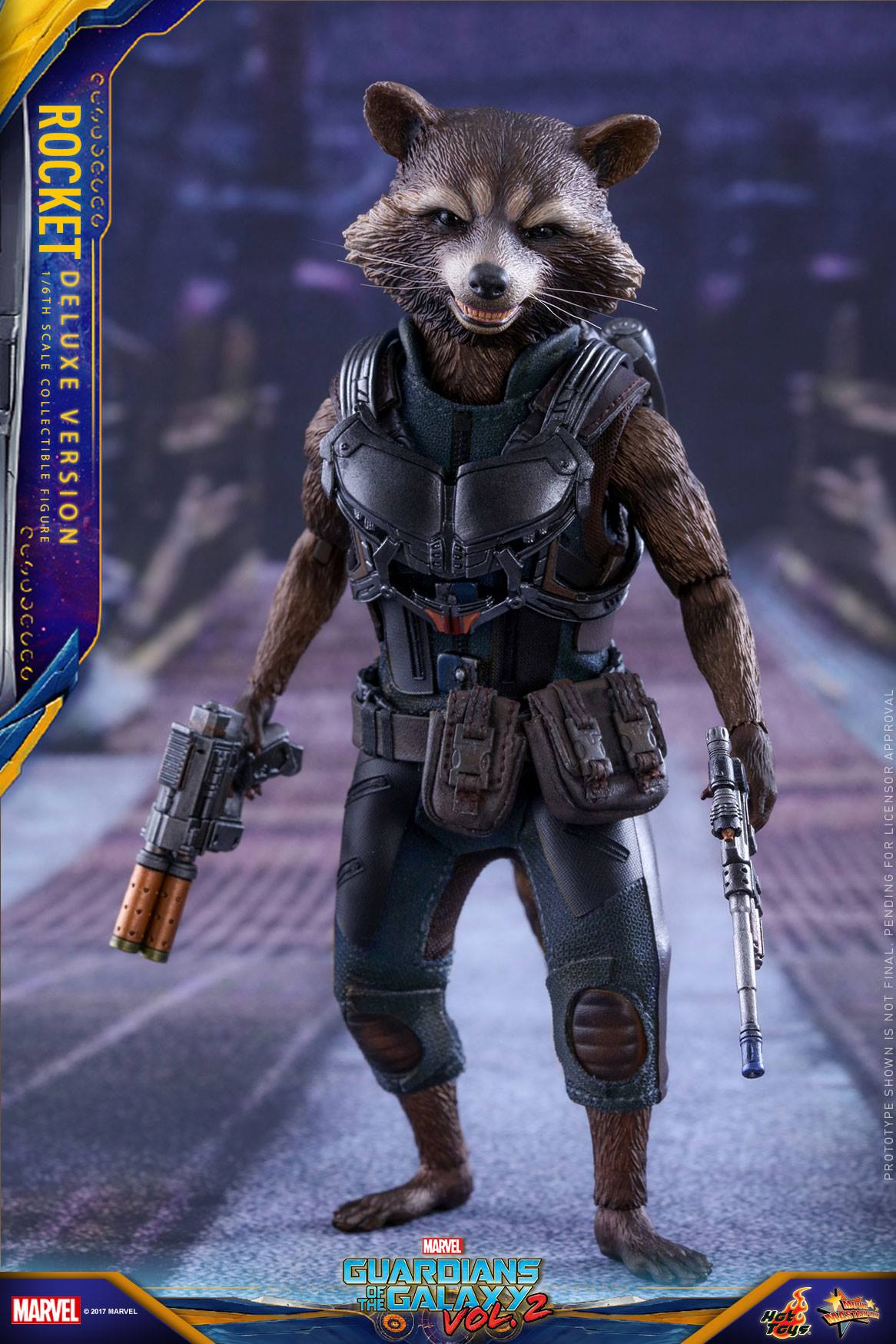 Hot Toys Rocket Guardians Of The Galaxy Vol 2