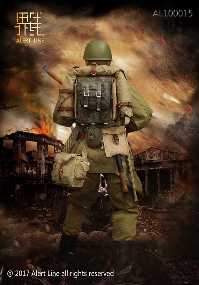 alert line wwii soviet red army infantry equipment set