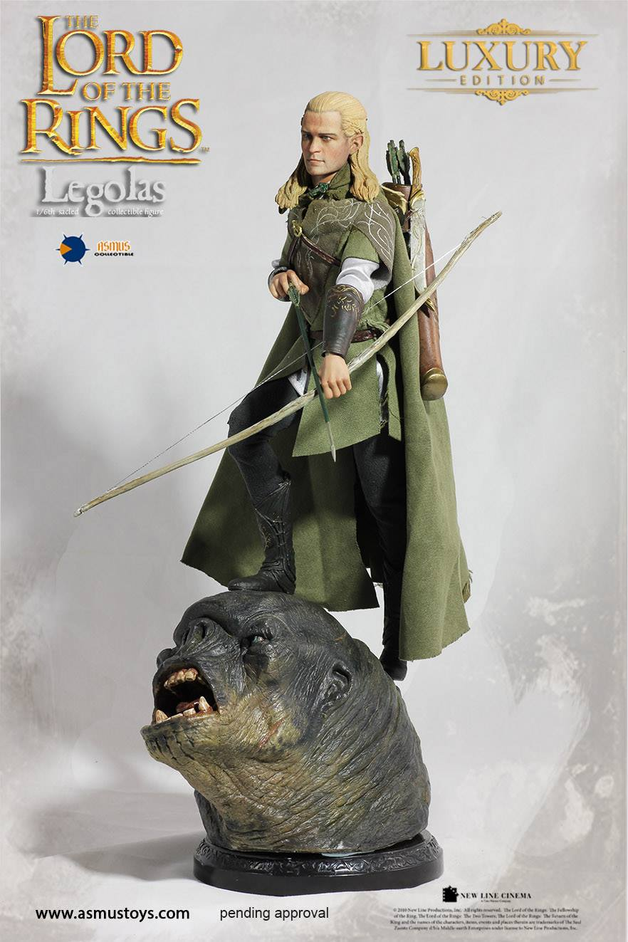 Lord Of The Rings Tarot The Hermit By Sceithailm On: Asmus Toys: Legolas (Lord Of The Rings