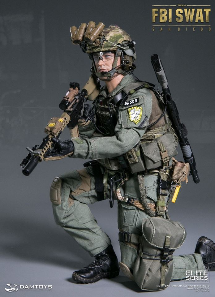 Damtoys: FBI SWAT Team Agent – San Diego Fbi Combat Uniform