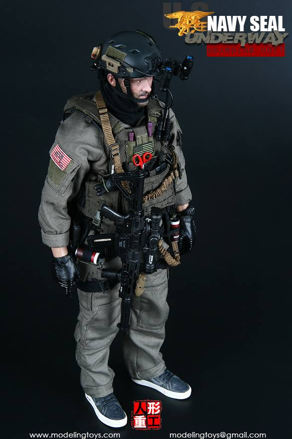 Modeling Toys Us Navy Seal Underway Boarding Unit