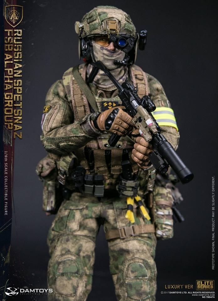 Damtoys Russian Spetsnaz Fsb Alpha Group