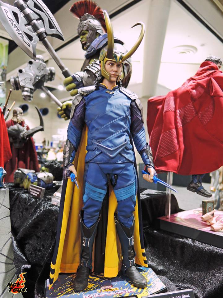 SDCC 2017 Hot Toys Your Friendly Neighborhood Superheroes