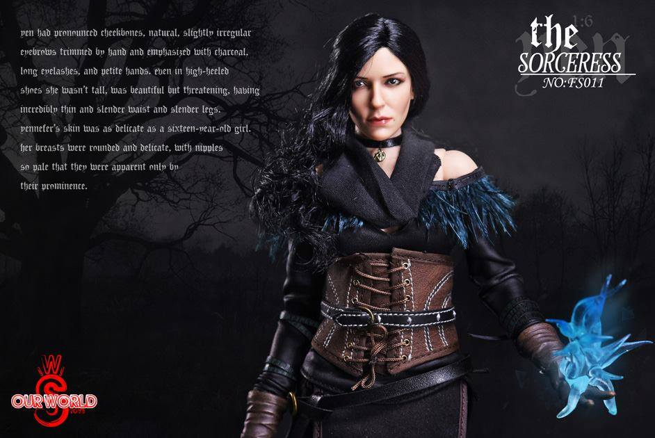 Sw Our World The Sorceress Witcher