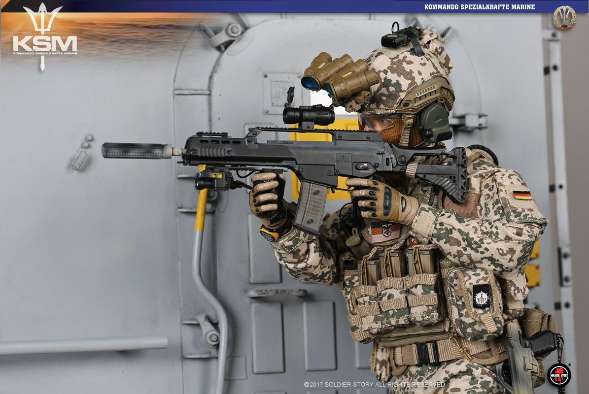 Soldier Story Kommando Spezialkr 228 Fte Marine Vbss