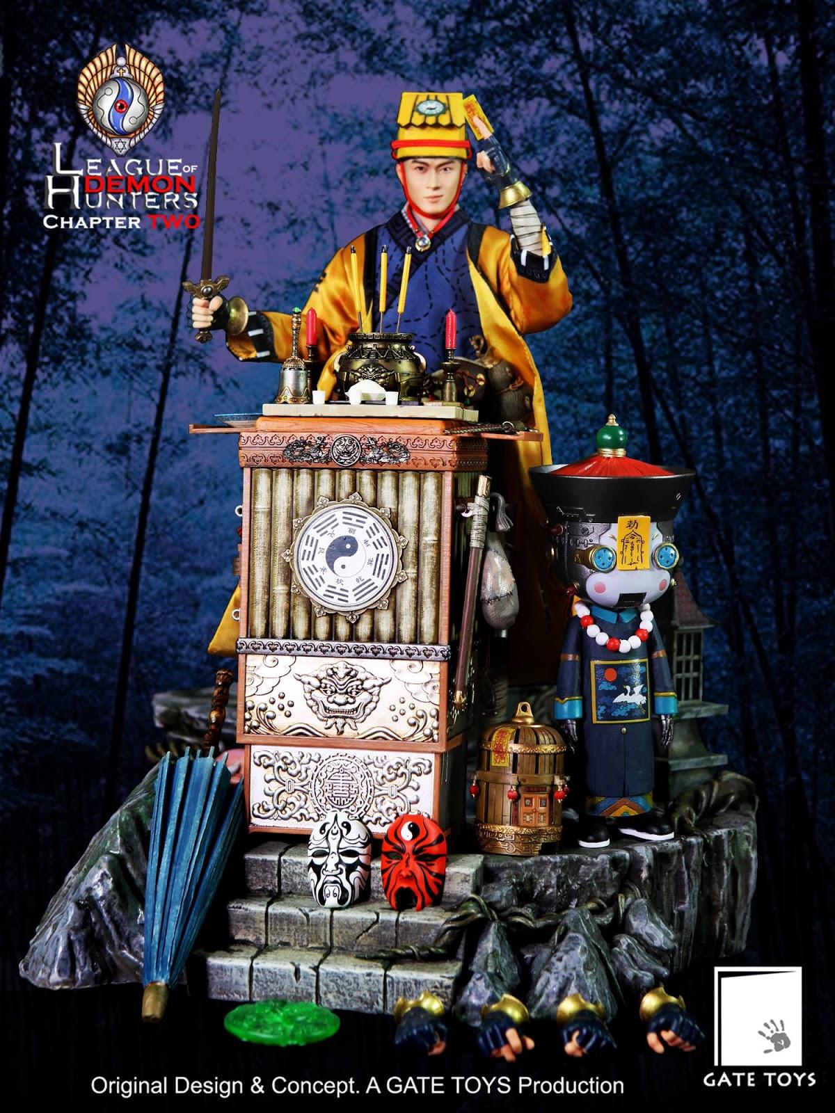 gate-Maoshan Taoist Priest Juan Tin Ming01