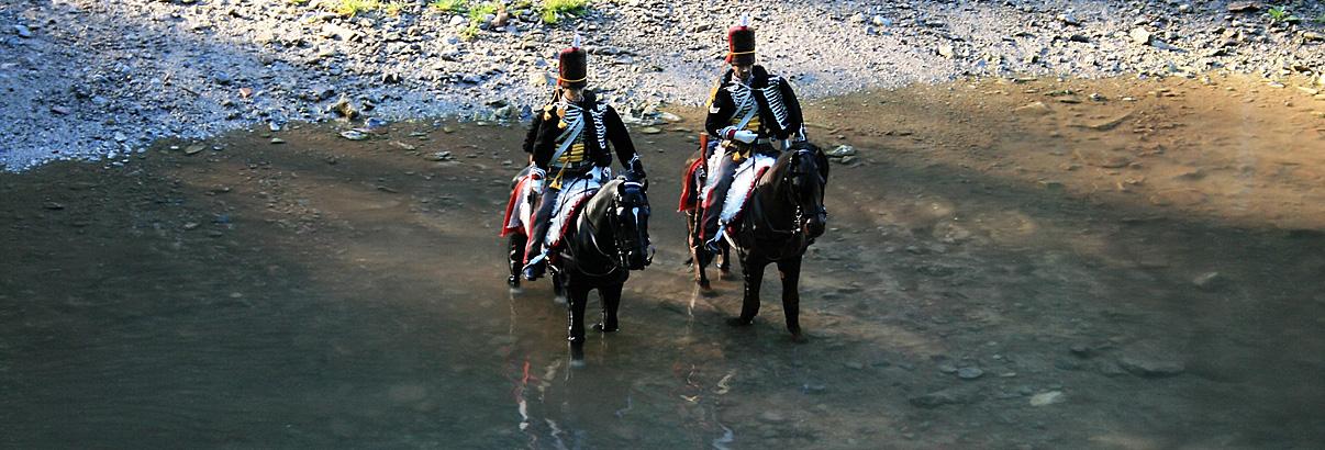 Forum: Foto des Monats Juli – The King's Hussars auf Patrouille